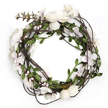 BEACHGIRL Bands Headband Adjustable No-Slip Hair Band For Women /& Girls Flower Bloom