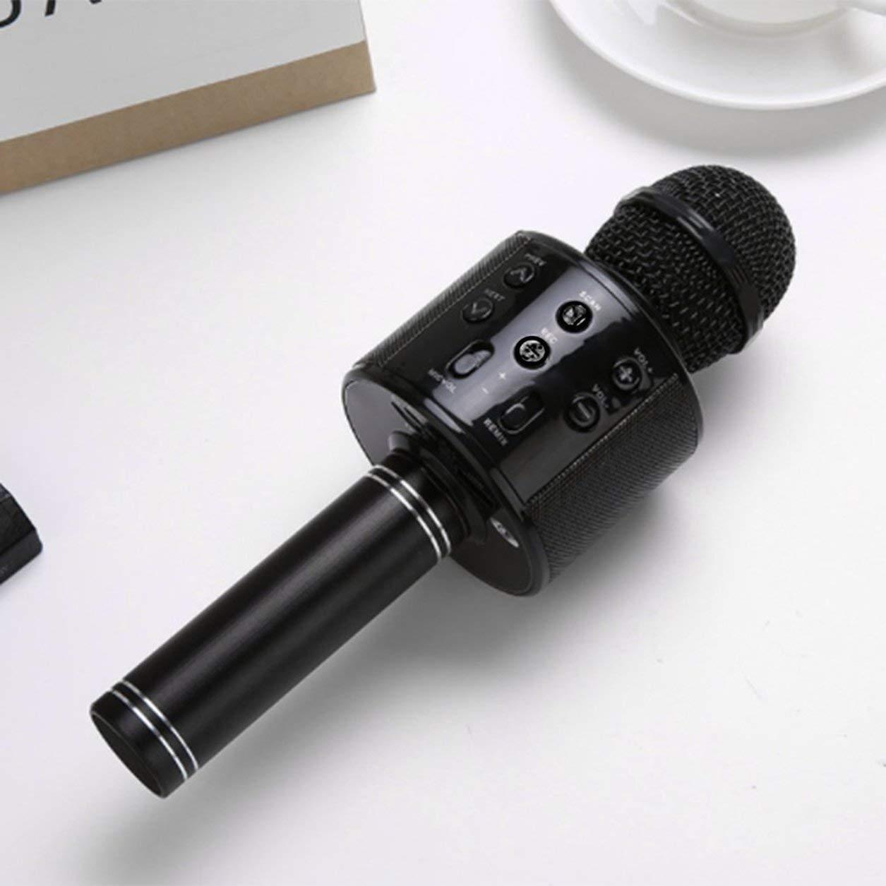 Dailyinshop Microfono ad Alta sensibilit/à KTV Music Playing Karaoke Microphone Colore: Oro