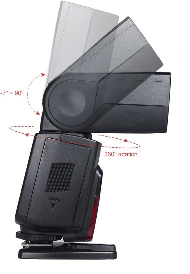 YONGNUO YN585EX Wireless Speedlite P-TTL SYNC LCD Screen GN58 HSS 1//12000s SP S1 S2 Slave AF-Assist Rear Curtain for Pentax DSLR Camera