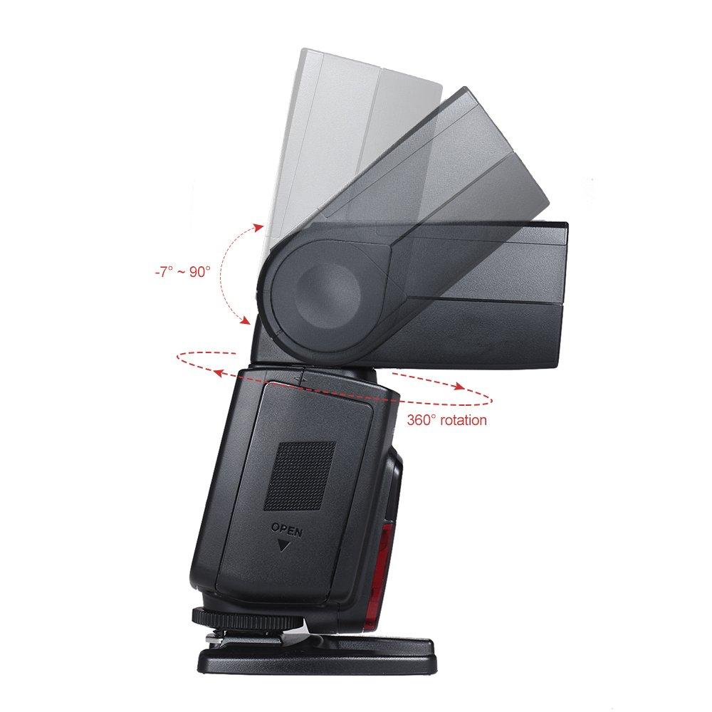 Yongnuo Yn585ex P-ttl Flash sans fil Speedlite lumi/ère Gn58/HSS 1//12000S SP S1/S2/esclave Af-assist arri/ère Rideau synchronisation d/écran LCD pour Pentax K-1/K-S1/K-S2/K-3/K-3ii K-70/K-50/D