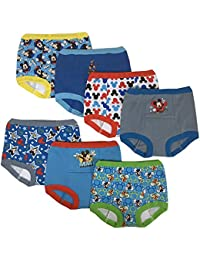 Disney Mickey Mouse Boys Potty Training Pants Underwear Toddler 7-Pack Size 2T 3T 4T