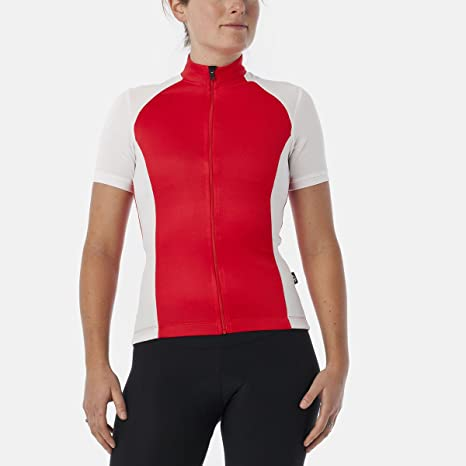 Amazon.com   Giro Race Red Chrono Sport Womens Short Sleeved Mtb ... 439570b99