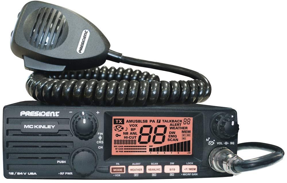 President McKinley USA 40 Channel CB Radio SSB 12/24V by President Electronics