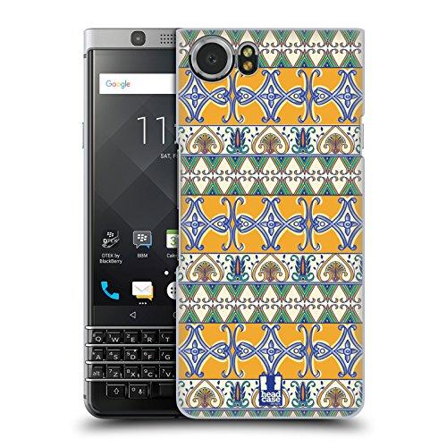 Head Case Designs Painted Ceramics Majolica Print Hard Back Case for BlackBerry KEYone / Mercury (Berries Majolica)
