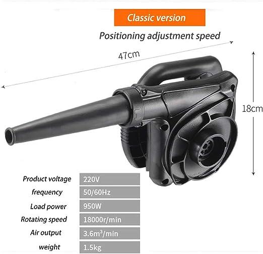 Soplador de jardín Colector Polvo pequeño Aspirador de Limpieza de Alta Potencia 220V Motor de Alambre de Cobre Puro Hay Cinco Versiones para Elegir,Classicversion: Amazon.es: Hogar