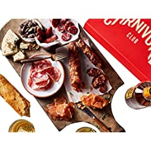Carnivore Club Gift Box (Gourmet Food Gift) - Food Basket - Comes in a Premium Gift Box – 6 Cured Meats Sampler From New England Charcuterie - Great with Crackers & Cheese & Wine