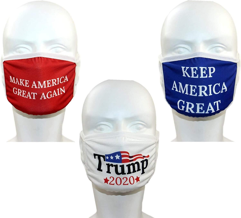 BobbleFingers Trump Face Mask