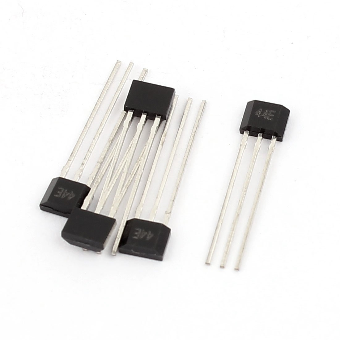 Aexit 4 Pcs Shock & Vibration Control 44E 4.5-24V Unipolar Sensitive Hall Effect Sensor Vibration Sensors Magnetic Detector