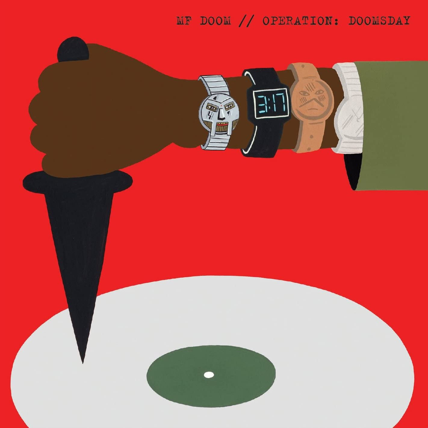 "MF Doom Operation Doomsday 2011 Edition Hip Hop Cover Poster 20×20 24×24 32×32/"""