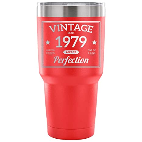 1979 39th Birthday Gift Vintage Year For Women And Men 30 Ounce Vacuum Tumbler