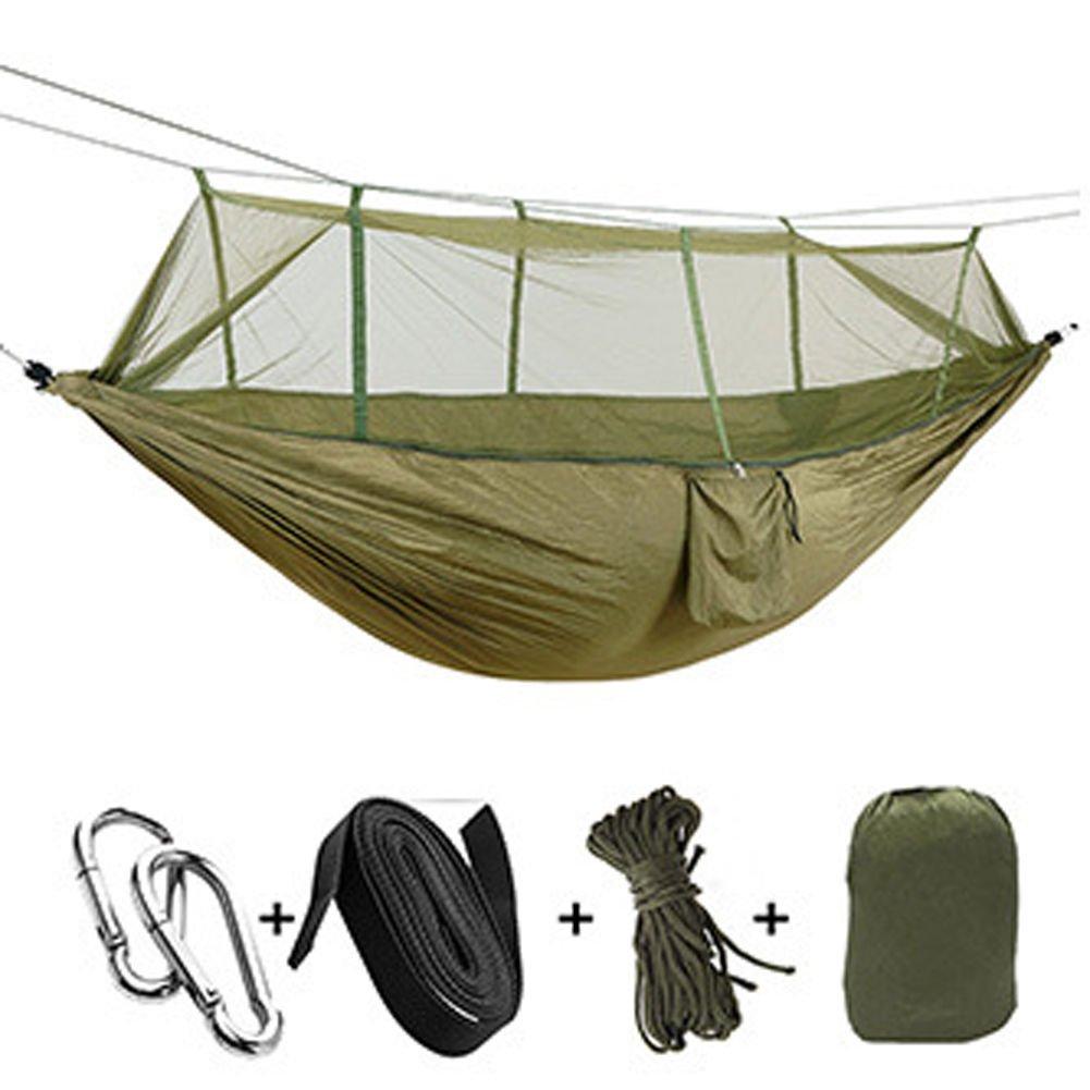 アウトドアハンモックwith Mosquito Net、cyclemannポータブル&折りたたみ式キャンプハンモックMosquito Netハンモックテント B073173ZZ5  ブルー