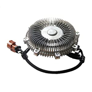 3264 Electronic Electric Engine Cooling Fan Clutch Radiator Fan Clutch for FORD EXPEDITION F-150 F-250 LOBO LINCOLN MARK LT NAVIGATOR 2008 2007 V8 4.6L 5.4L