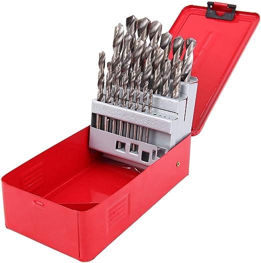 8PCS LONG DRILL BIT SET Tool Straight Shank HSS Large Twist Metal Steel 4-10mm