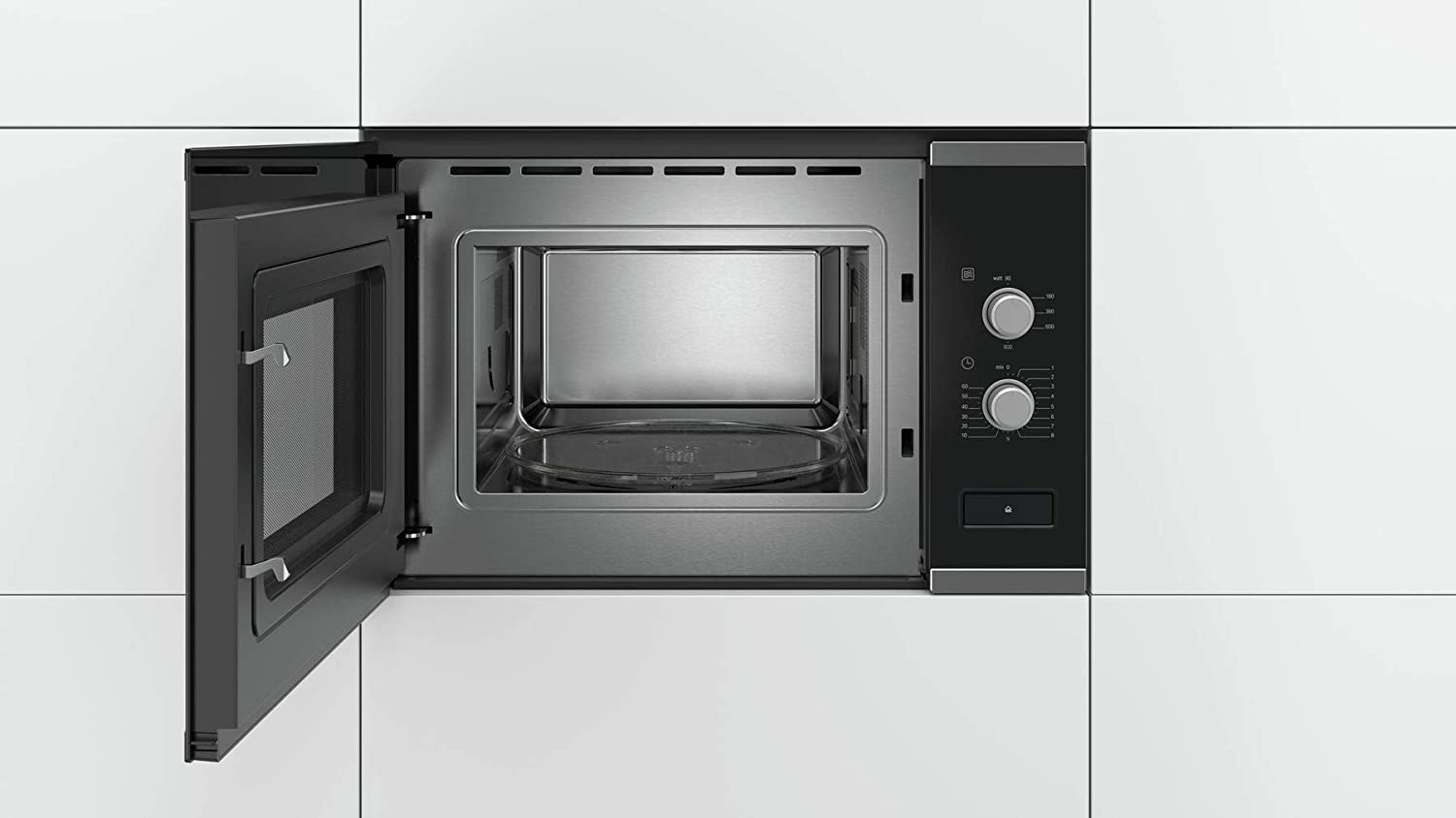 BOSCH BFL550MS0 - Micro-ondes monofonction encastrable inox ...