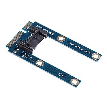 Gazechimp MSATA SSD A SATA Placa De Adaptador De Disco Duro ...