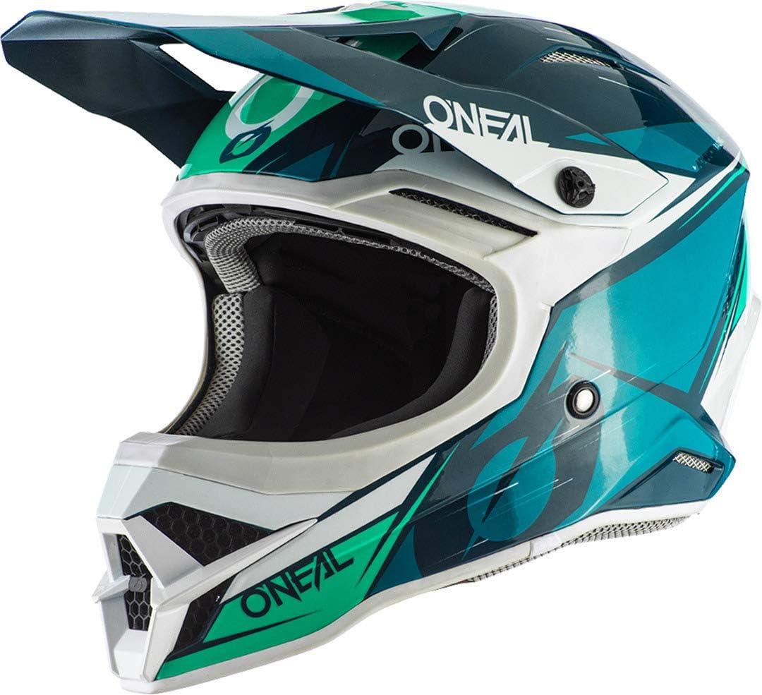 O Neal 3 Series Stardust Motocross Enduro Mtb Helm Blau TÃŒrkis 2020 Oneal Größe Xxl 63 64 Cm Auto