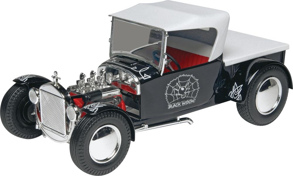 Amazon.com: Revell/Monogram Black Widow Hot Rod Building Kit: Toys ...
