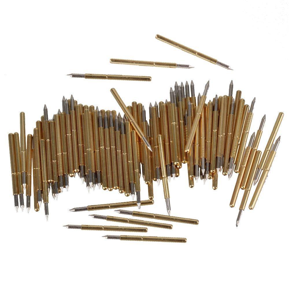 BQLZR Golden Silber 1.02mm x 16.5mm 100g P75-B1 Leder Probe Nadel Akzeptierbar 100er Pack N07470