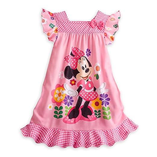 bb6b92700e06 Amazon.com  Disney Store Minnie Mouse Little Girl Short Sleeve ...