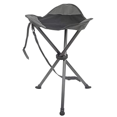 PORTAL Tall Slacker Chair Folding Tripod Stool for Outdoor Camping Walking Hunting Hiking Fishing Travel, Support 225 lbs : Sports & Outdoors
