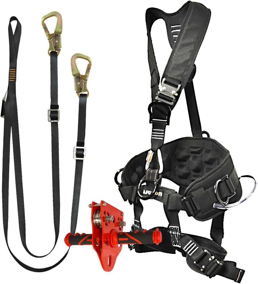 Fusion Climb Pro Backyard tyrolienne kit Harnais Lanière Bundle Fk-a-hl-05