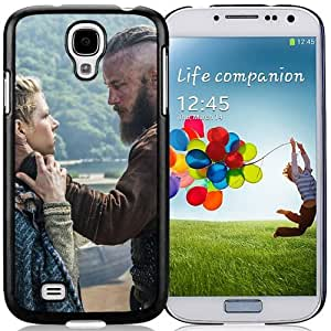 Galaxy S4 Phone cases, Vikings Historical Drama Travis Fimmel Ragnar Lothbrok Katheryn Winnick Lagertha Black Samsung Galaxy S4 I9500 i337 M919 i545 r970 l720 cell phone case