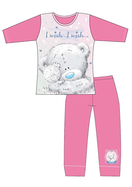 Tatty Teddy Pyjamas Pijama - para niña Pjs - Pink I Wish Edad 11/12