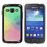 LASTONE PHONE CASE / Slim Protector Hard Shell Cover Case for Samsung Galaxy Ace 3 GT-S7270 GT-S7275 GT-S7272 / Fog Rain Pastel Colorful Clean Blue