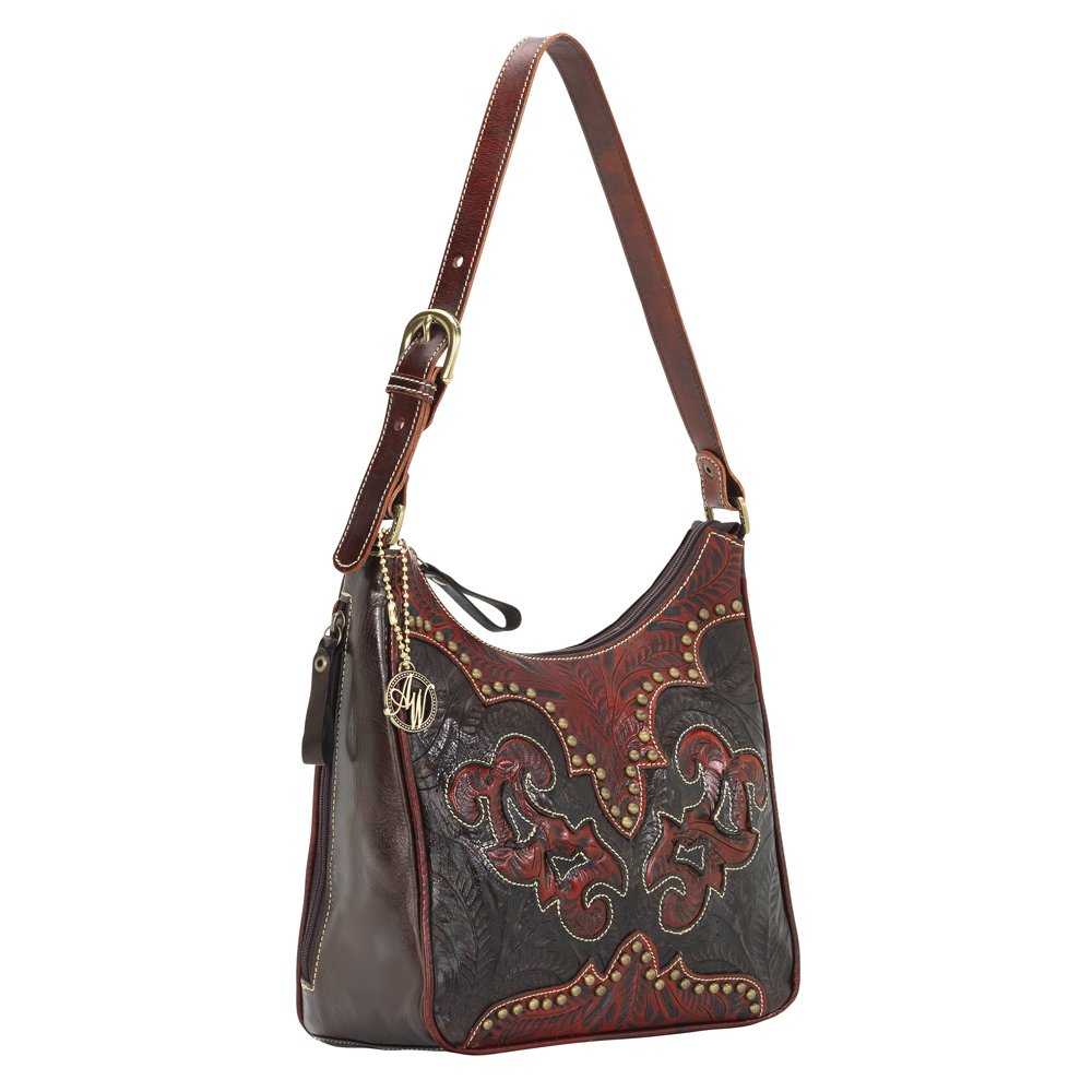 9150629 American West Women's Annie's Secret Purse - Chocolate by American West