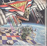 Triumph: Just A Game LP VG++ Canada Attic LAT 1061 gatefold cover