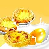 AKOAK Egg Tart Mold Heat Resistant Non Stick