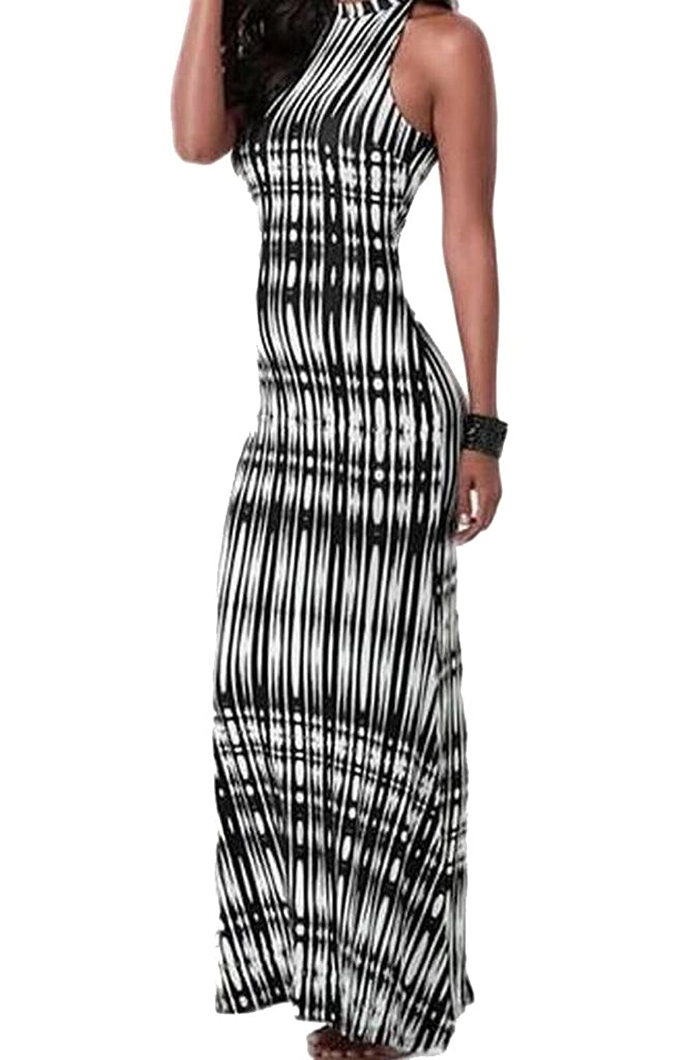 ASL Women's Sleeveless Slim Fit Sexy Cocktail Dress Party Dress