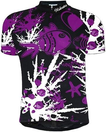 Maillot De Ciclismo Para Hombre Manga Corta,Camisa De Ciclismo De Montaña Jersey De Ciclismo De Montaña De Dibujos Animados Impresos De Secado Rápido Transpirable De Verano, Cremallera Completa M: Amazon.es: Hogar