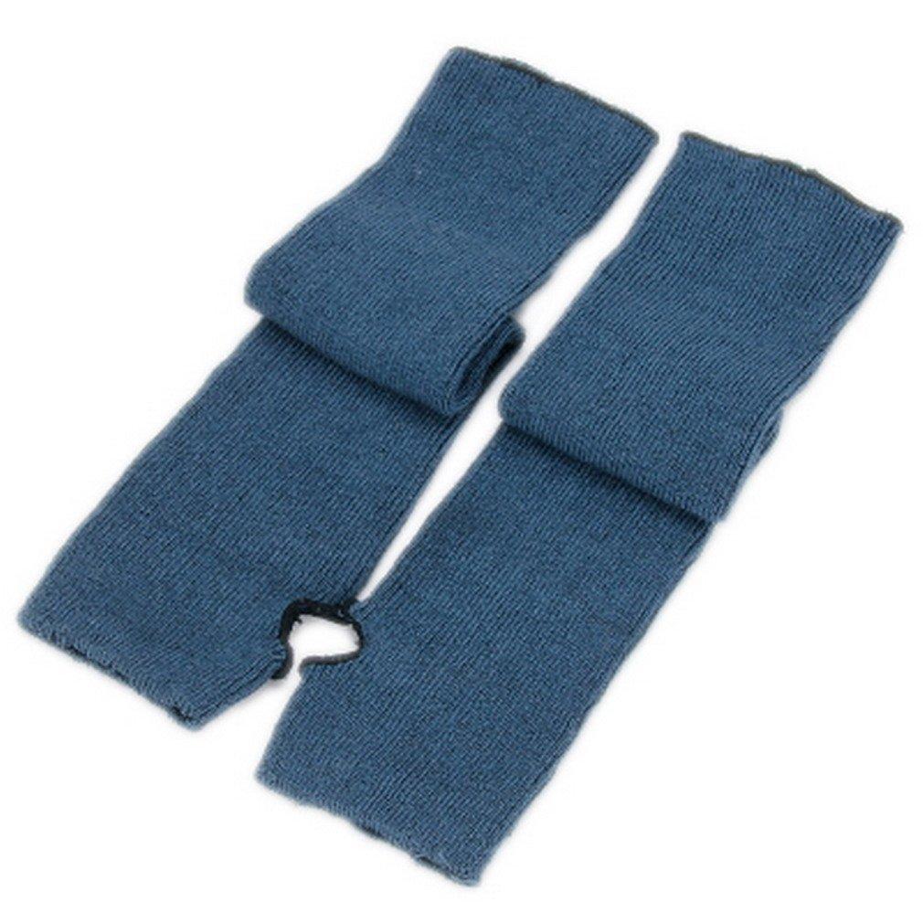ELE GENS Damen Fingerlos Armwärmer Armstulpen Handschuhe gestrickt Lang Baumwolle EG076