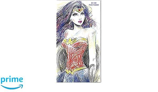 Wonder Woman 2019 Pocket Planner: Amazon.es: Trends ...