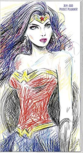 2019 Wonder Woman Pocket Planner: Trends International ...