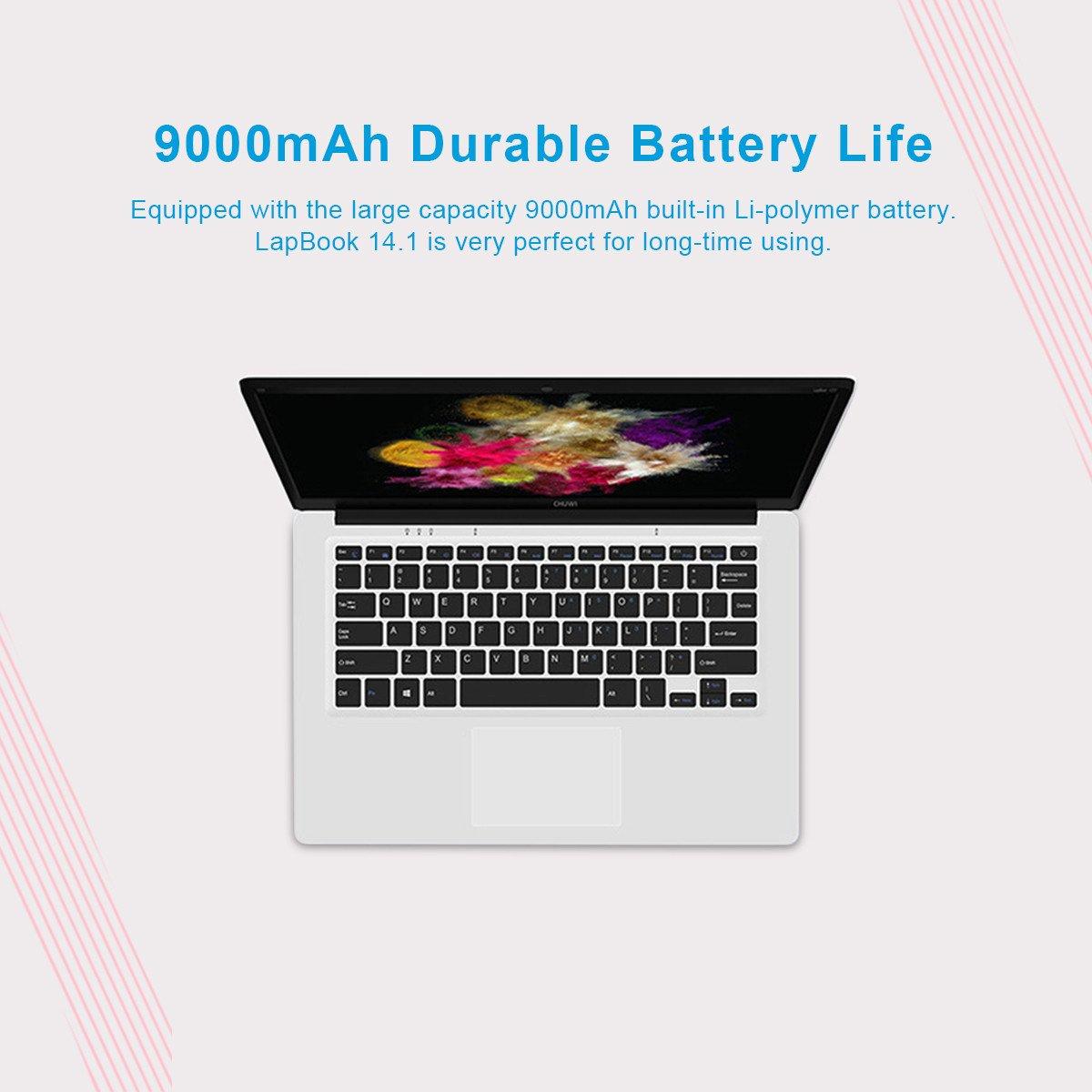 Chuwi LapBook 14.1 - Ordenador Portátil de 14.1