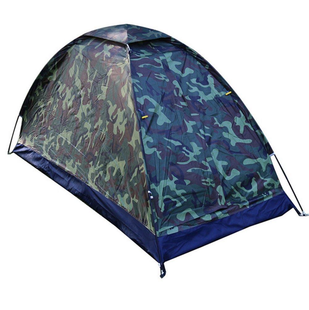 Weiwei Outdoor-Camping-Zelte, Kreative Camouflage 1-2 Zelte Regen Sonne Schutz Zelte