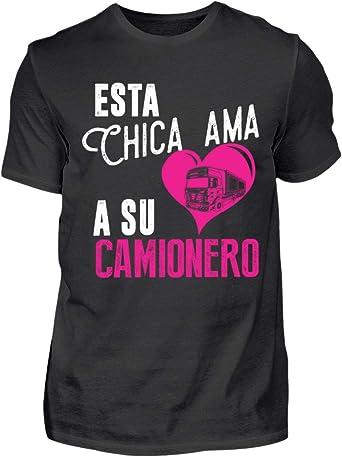 Shirtee Camionero - Esta Chica Ama - Camisa de Hombre: Amazon ...