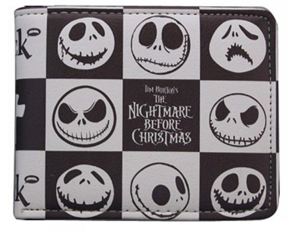 Cartera Billetera de Pesadilla Antes de Navidad Blanco Negro ...