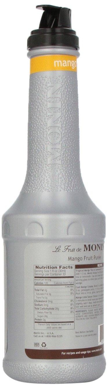 Monin Mango Fruit Puree, 1 Liter bottle by Monin (Image #4)