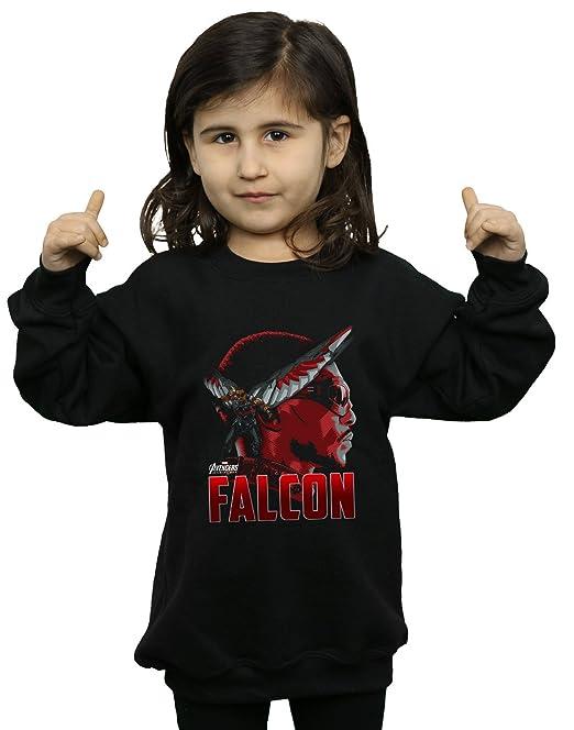 Avengers Niñas Infinity War Falcon Character Camisa De Entrenamiento: Amazon.es: Ropa y accesorios