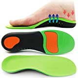 Orthotic Insoles, HOME-MART Plantar Fasciitis Insole, Full Length Heel Seats Foot Orthotic Inserts with Arch Support for…