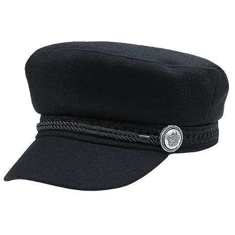 Reefa Berretto -Basco Nero Stile de Francia   Pittore   Marina Donna  Ragazza Fashion cappelli 48ead2f10a10