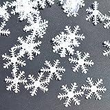 WensLTD Clearance! 100Pcs Snowflake Ornaments Christmas Tree Holiday Party Home Decor (B)
