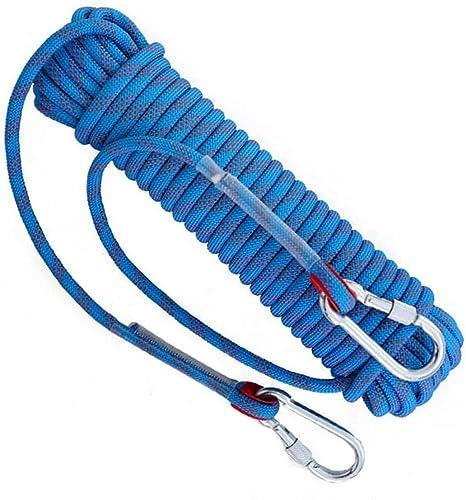 Cuerda de escalada estática rapel de rescate cuerda de escape ...
