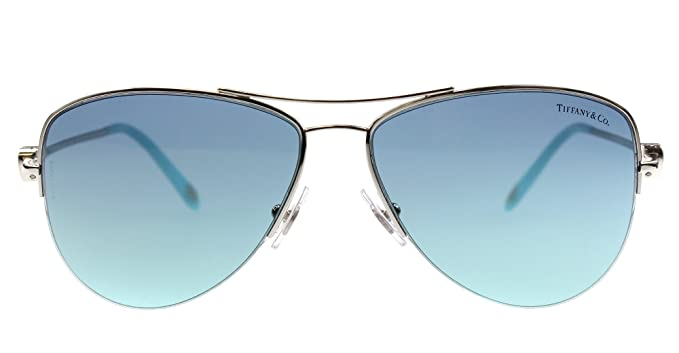 af2820e79242 Amazon.com  Sunglasses Tiffany TF 3021 60029S SILVER  Clothing