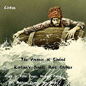 The Voyages of Sinbad and Kipling's Jungle Book Stories Audiobook