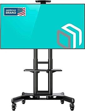 ONKRON TS1551 Soporte de Piso Móvil para TV pantallas LCD LED de 32 a 65 pulgadas VESA Máx 600 x 400 mm Pie para televisión con ruedas: Amazon.es: Electrónica
