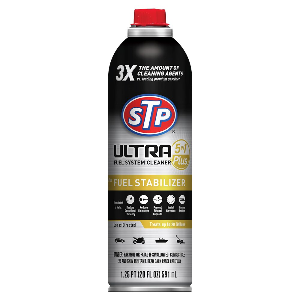 STP Ultra 5-in-1 Fuel System Cleaner and Fuel Stabilizer (20 fl. oz.)